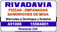 PIZZERIA RIVADAVIA
